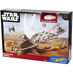 HOT WHEELS STAR WARS ESCAPE FRM JKU