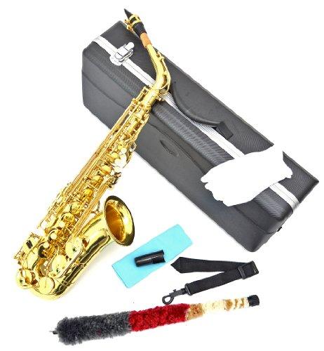 Alt Saxophon in Gold mit ABS-Koffer und Zubehör