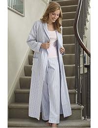The Irish Linen Store Jenny Brushed Cotton Pyjama Pantalon Femme