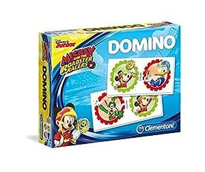 Clementoni-Domino Mickey Top Despedida-Juego Educativo-Disney, 18016