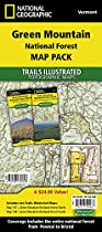 Green Mountain National Forest, Vermont, Map Pack Bundle (National Geographic Trails Illustrated Map)