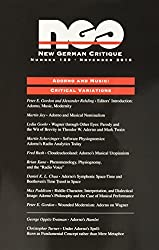 Adorno and Music: Critical Variations (New German Critique)