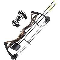 arco compound 17 26 pound kit with accessories arrows faretra shooting sport camo