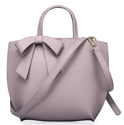 Xinmaoyuan Damen Lederhandtaschen reine Farbe Rindsleder Mutter Tasche Bug Schulter Portable Messenger Bag