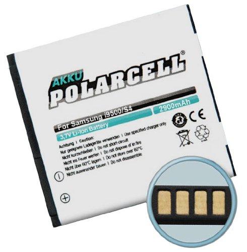 PolarCell Batería para Samsung Galaxy S4 / I9500 (2900mAh/11Wh) ohne NFC + Mini-trapo de microfibra