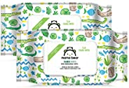 Amazon Brand - Mama Bear Biodegradable Bamboo Wet Wipes - 72 wipes/pack (Pack of 2)