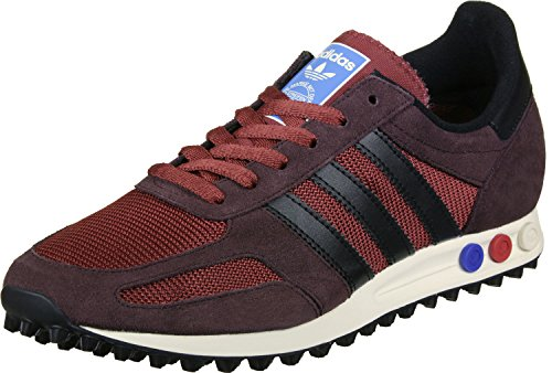 adidas Herren La Trainer Og Laufschuhe Mehrfarbig (Mystery Red S17/core Black/night Brown)