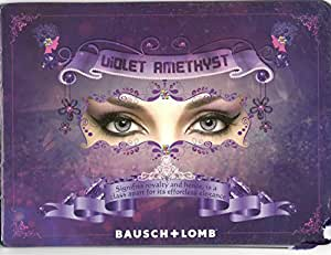 Bausch & Lomb Optima Natural Look Contact Lenses(1 Lens / Box) Amethyst Three