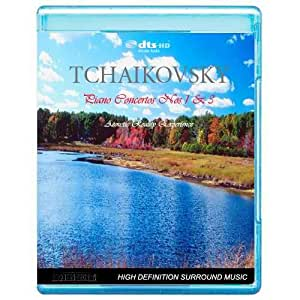 Tchaikovsky - Piano Concertos Nos. 1&3 - Acoustic Reality Experience [7.1 DTS-HD Master Audio Disc] [BD25 Audio Only] [Blu-ray]