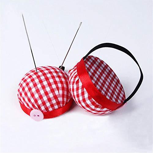 VVLOVE Nadelnadel Kissen Ball Form Nadelkissen Handgelenk Pin Ball Handwerk Werkzeug