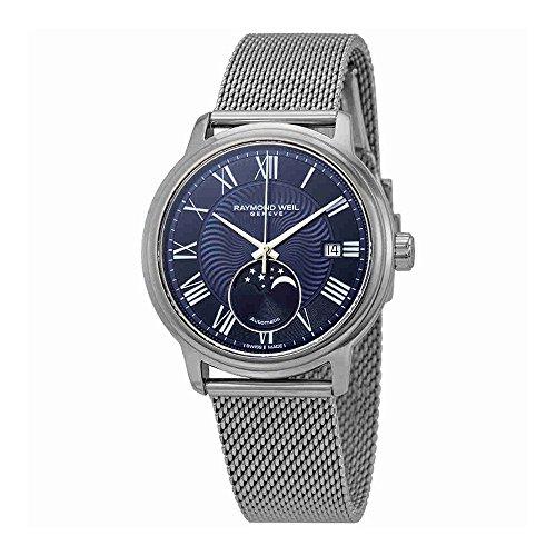 Reloj Automático Raymond Weil Maestro, 40 mm, Día, Fase Lunar, 2239M-ST-00509