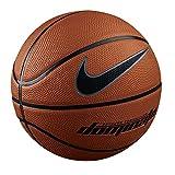 Nike Dominate 8P Basketball Taille Unique Dark Amber/Black/MTLC Platinum