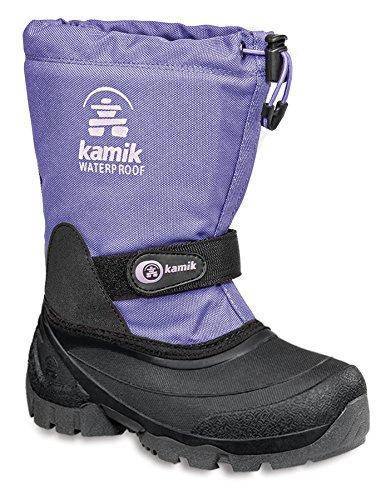 Kamik Waterbug5G NK8237 Unisex-Kinder Schneestiefel Violett (lavender LAV)