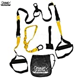 Protone Suspension Trainer - Bodyweight Strength And Fitness Training System - Home Gym - Crossfit - Fitness