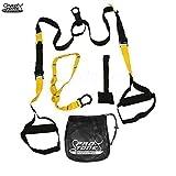 Protone professionelle Schlingentrainer - Körpergewicht Stärke-Trainings-System für Crossfit / Heimfitness / Fitnessstudio / Fitness
