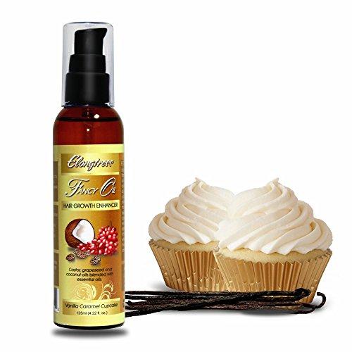 Elongtress Huile Fancy - cheveux croissance Enhancer - (Vanilla Caramel Cupcake)
