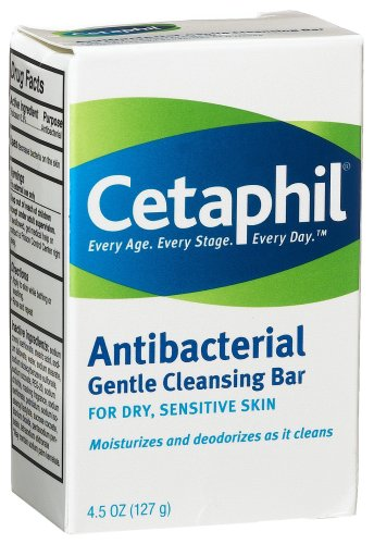 Cetaphil Cleansing Bar Antibacterial Gentle 127g