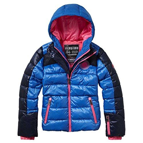 Vingino Mädchen Winter Ski Jacke Trinette reflex blue JG1630004 (6/116, reflex blue)