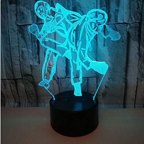 Boxer Boxen Led Nachtlicht 7 Farbe Home Table Party Bar Decor Lampe Jungen Mann Kinder Favor Beste Geschenke ()