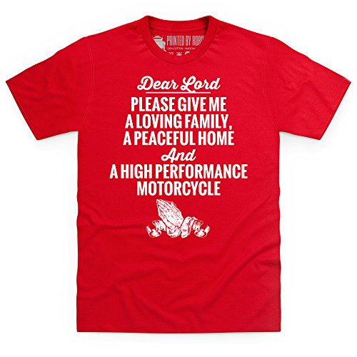 Dear Lord T-Shirt, Herren Rot
