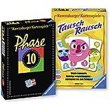 Ravensburger 82190 - Set con 2 giochi di carte: Phase 10 e Tausch-Rausch