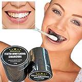 12shage Zähne Whitening Powder Natürliche Organische Aktivierte Holzkohle Bambus Zahnpasta (120g)