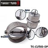 Tansky - H Q nuevo vacío Activado recorte del extractor / descarga 60 MM de tipo abierto Presión: aproximadamente 1 bar conocimientos tradicionales CUT60-OP