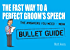The Fast Way to a Perfect Groom's Speech: Bullet Guides