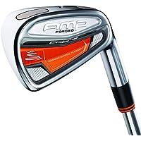Cobra Amp forgé Fers de golf (manche en acier) Homme Stiff Flex 5-pw Fers (6) Droit pour droitier Reg