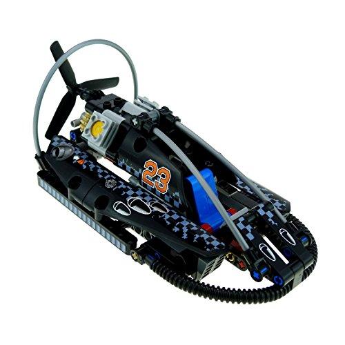 Preisvergleich Produktbild 1 x Lego Technic Set Modell für Nr. 42002 Hovercraft Boot Lüftkissenboot schwarz incomplete unvollständig