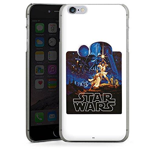 Apple iPhone X Silikon Hülle Case Schutzhülle Star Wars Merchandise Fanartikel Episode IV Hard Case anthrazit-klar