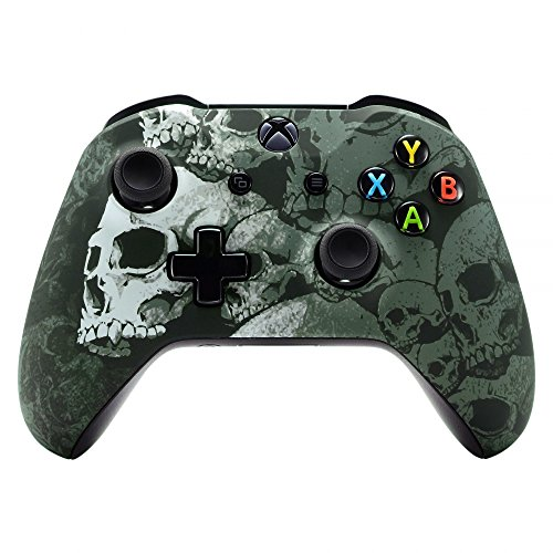 eXtremeRate Obere Case Hülle Schutzhülle Cover Oberschale Skin Housing Kit Schale Gehäuse Shell für Xbox One X/Xbox One S Controller -