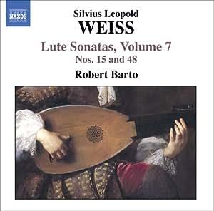 weiss lute sonatas vol 7 robert barto silvius leopold weiss musik. Black Bedroom Furniture Sets. Home Design Ideas