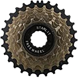 Starlit 7 Speed Last Black with Extra Wheel 14-28 T (Brown)