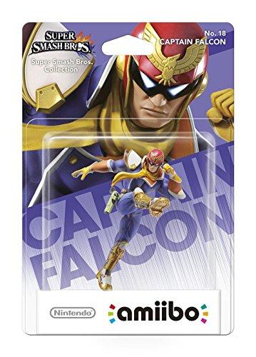 amiibo Smash Captain Falcon - 3ds Mario Super Xl Bros Nintendo