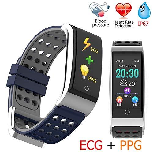 MCJL Activity Tracker Heart Rate Monitor Health Tracker IP67 Wasserdichtes Smart Armband mit Pedometer Sleep Monitoring Calorie für iPhone Android