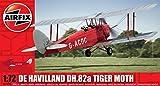 Airfix 1:72 Scale De Havilland Tiger Moth Model Kit (42 Pieces) by Hornby Hobbies Ltd