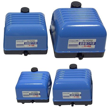 ACO Membranluftkompressor 9810 Belüftungspumpe zur Teichbelüftung und Luftzufuhr