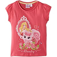 Disney - Princess, Short sleeve per bambine e ragazze