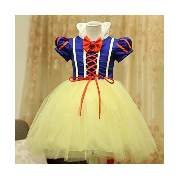 c0c284f76 AP Boutique Baby Girl Dress Birthday Party Wear Frocks Snow White Girl  Costume Fancy Dress Halloween