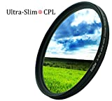 DolDer X- Pro Series Slim Zirkular Polfilter 72mm - CPL Filter 72mm