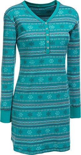 laritaM Nachthemd Interlock-Jersey Smaragd