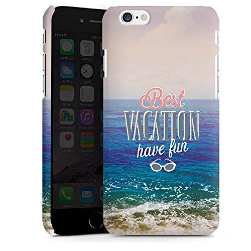Apple iPhone X Silikon Hülle Case Schutzhülle Urlaub Meer Strand Premium Case matt