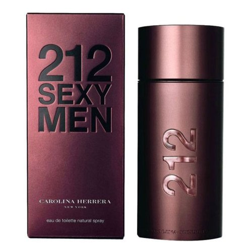 Carolina Herrera 212 Sexy Men EDT 100ml with Ayur Product in Combo