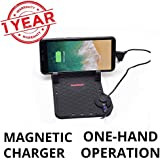 Blackcat Anti-slip Car Mobile Holder & Charger with Magnetic cable