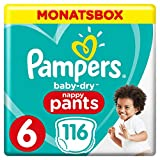 Pampers Baby-Dry Pants, Gr. 6, 15kg+, Monatsbox (1 x 116 Pants)