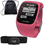 Polar 90057191KT- M400 GPS Training Companion with Heart Rate and Bag - Pink