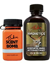 De Tink Magnetics sintético Buck Atrayente 2 onzas con bomba Scent
