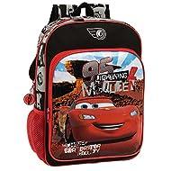 Disney Cars Set de Sac Scolaire, 40 cm, Rouge 4442351