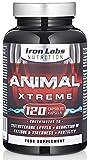 Muskelaufbaumittel - Animal Xtreme - Erweiterter Booster für Männer | Fruchtbarkeit | mit L-Arginin, Maca, Ginseng, Zink (120 Kapseln)